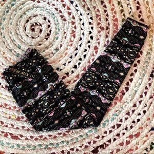 New Mix Colorful Aztec Leggings
